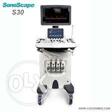 سونار Sonoscape S30 new with 2 year warranty with 2 probes