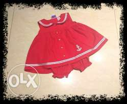 Red dress from usa 1-2 years