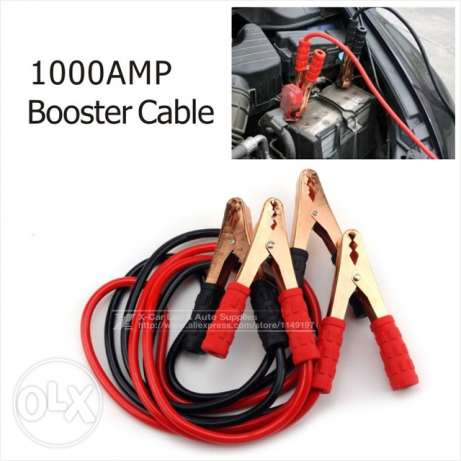 Booster cable 1000A Heavy Duty Auto Battery