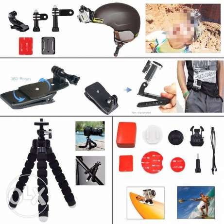 Go pro kit accessories القاهرة -  3