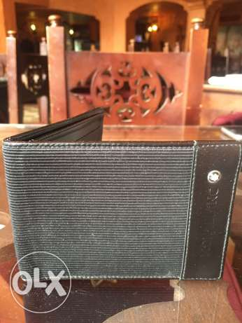 Mont Blanc Wallet - Like New (Mint Condition)