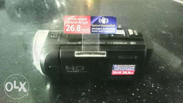 Sony camera HD cx450 new one never used before