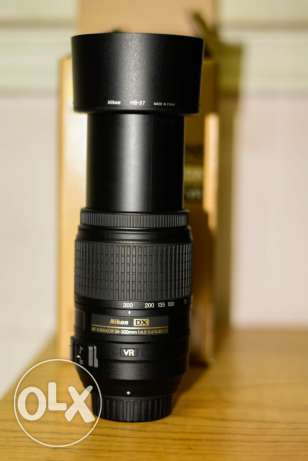 Nikkor lens 55-300 auto focus and vr