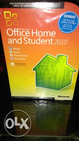 Office home 2010 3 user