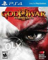 looking for god of war 3 remastered and gta v new or used