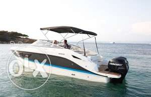 33ft bow rider and cruiser