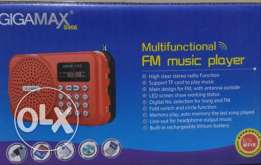 GigaMax FM music player