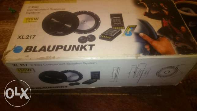 Blaupunkt 17cm component speakers xl-217 two way
