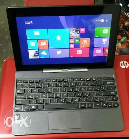 Asus transformer t100t. Intel atom. 2gb. Internal 32gb حى الجيزة -  2