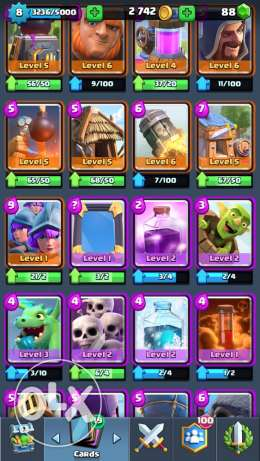 Clash Royale acc (IOS) مدينة نصر -  5