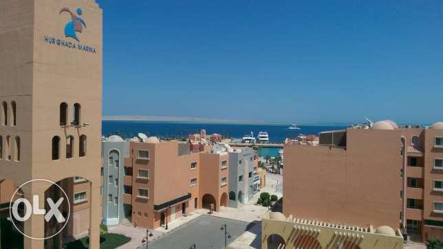 In hurghada for sale flat frant of marina