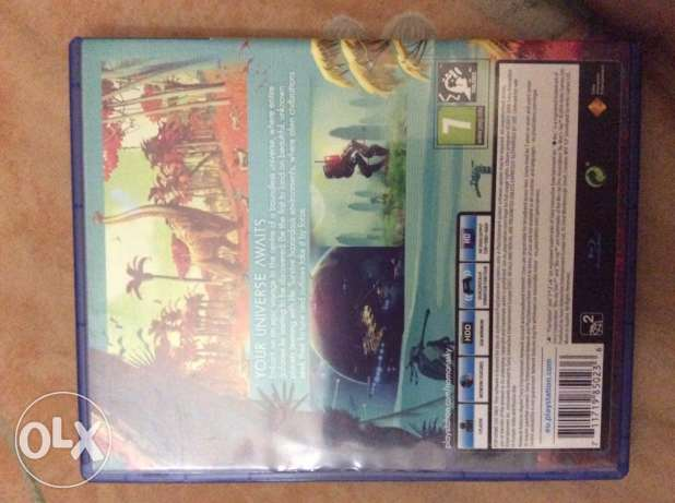 """PS4 game """" NO MAN'S SKY """" / barely used / REGION 2 (EUROPE)"""