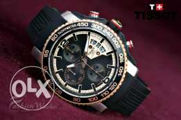 Tissot black modern for men first copy