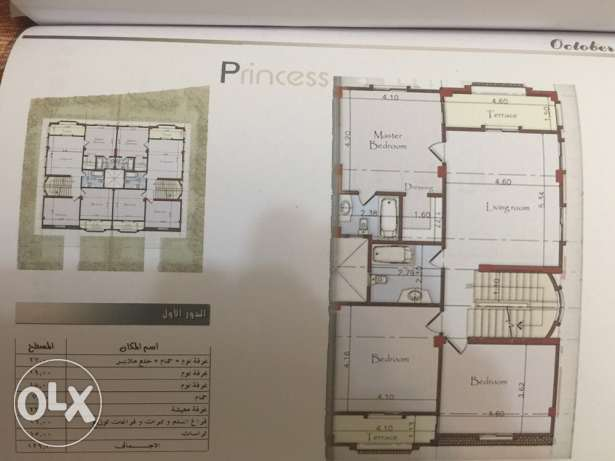 Twin villa in October Princess compound facing AlFutaim Mall of Egypt 6 أكتوبر -  6