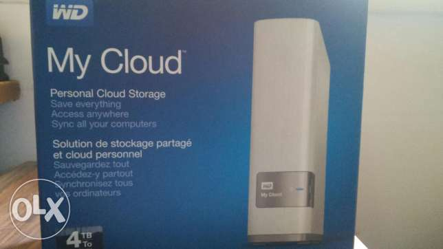 Hard Disk 4 TB HDD My Cloud الغردقة -  1