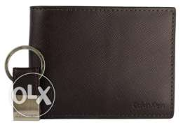 Original Calvin Klein Men's Leather Tri-Fold Wallet