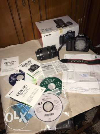 canon 70d as a new