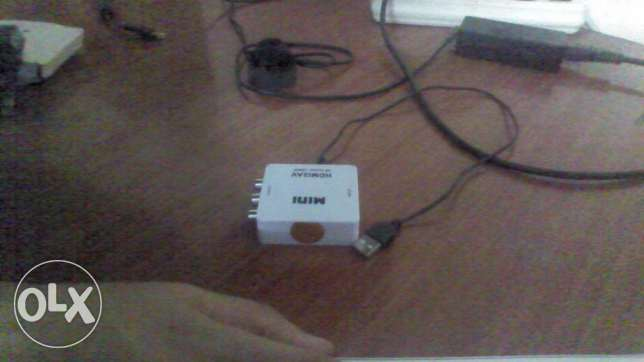 mini converter from hdmi to rca