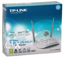 TP Link TD W8968 Mbps300 Wireless USB ADSL2+ Modem Router