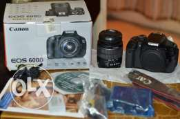 canon 600d with 18-55 with 55-250
