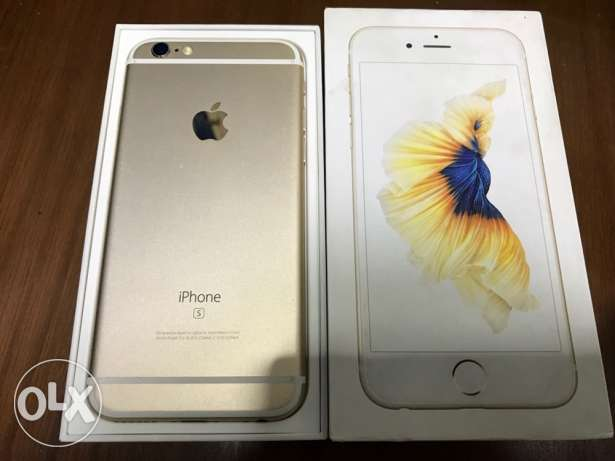 iPhone 6s Gold 16G / Very Good Condition / All accessories