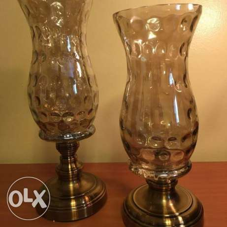 2 open pieces as candeller & the other 2 just for decor مصر الجديدة -  1