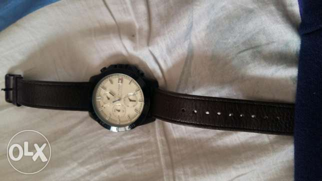 Hilfiger watch for menساعة رجالي