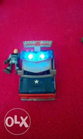 Imaginext City Police Car Awesome Lights X7620