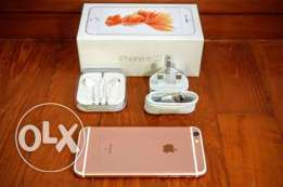 Iphone 6s rose gold 16G with full boxing