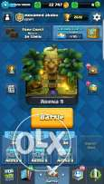 clash royal arena 9 and clash of clans town hall 8