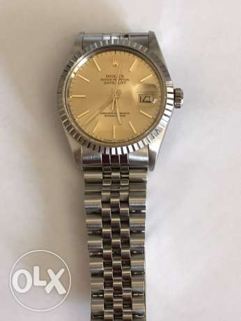 genuine ROLEX watch (used)