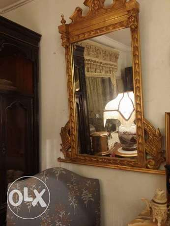 very old amazing mirror english gold very fine oiyma