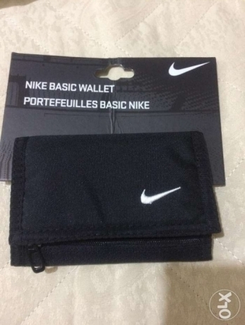New nike Wallet Black gym sport محفظة اصلي