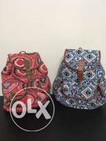 2 orient backpacks