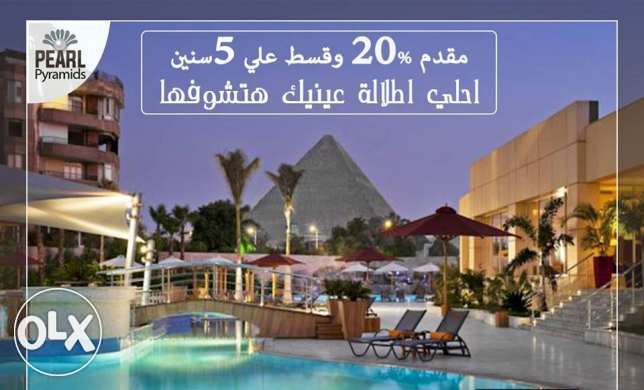 I villa beside the PYRAMIDS and the great Egyptian museum