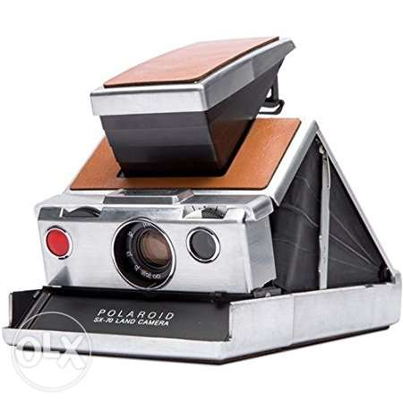 Polaroid SX-70 Original Instant Film Camera كاميرا بولورويد تحفة