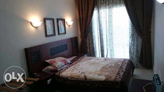 2-bedrooms Flat with private garden, sea and pool view الغردقة -  6