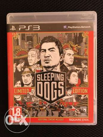 sleeping dogs limited edition used for few days