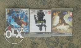 uncharted 2 / god of war / call of duty mw3