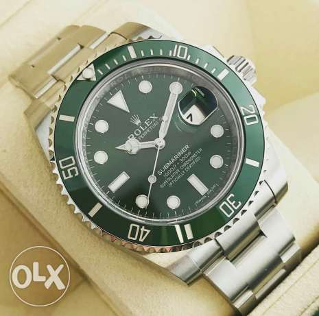 Green Submariner Rolex