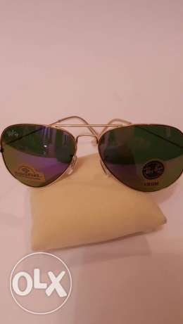 Rayban Aviator Sunglasses (Made in italy)