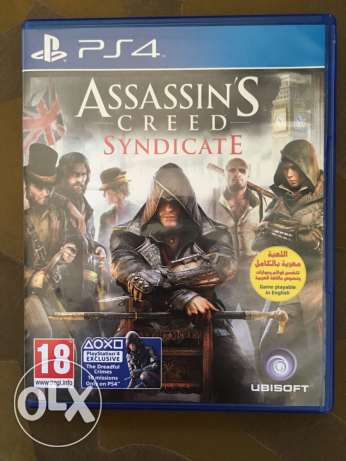 PS4 CD assassins creed كفر عبدو -  3