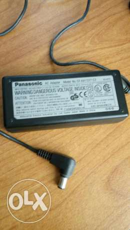 Laptop panasonic charger used as new