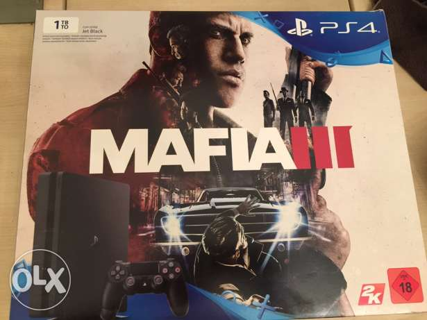 ps4 slim 1 tera with Mafia 3
