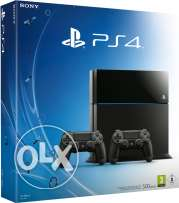 Ps4 1tb 2 controller new in box