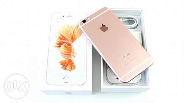 iPhone 6s 16G Gold locked orange in warranty used 1 month