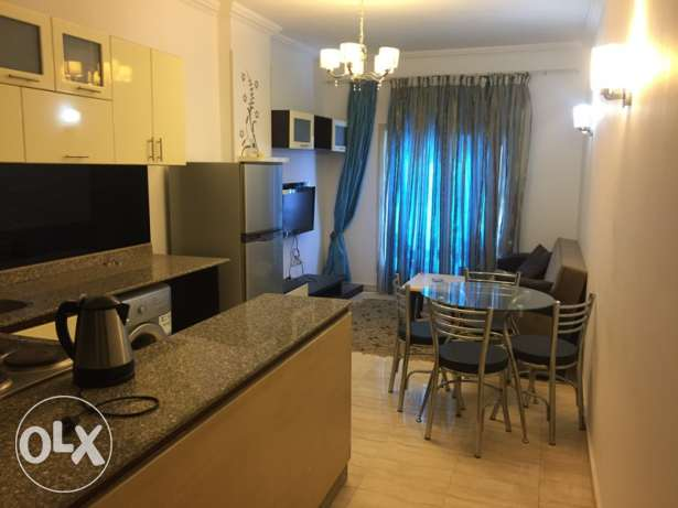 Nice apartment with 1 bedroom in luxury compound Blue Pearl