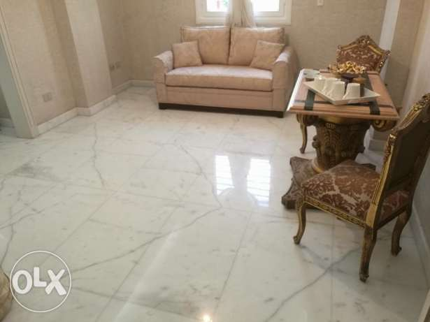 For Sale in Zayed Dunes For sale ground apartment 138m الشيخ زايد -  2