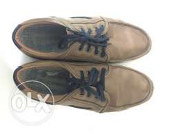 Pair of brown shoes used
