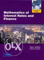 "Mathematics of Interest Rates and Finance ""International Edition"""